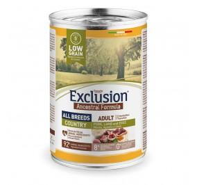 Exclusion Dog ANCESTRAL LOWGRAIN Adult All Breeds Light 24x400gr