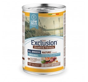 Exclusion Dog ANCESTRAL LOWGRAIN All Breeds Mature 24x400gr