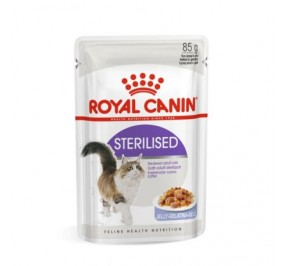 Royal Canin chat humide Sterilised en Gelée sachet 85g
