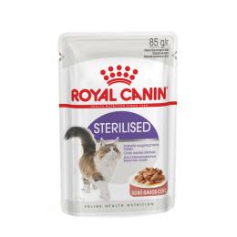 Royal Canin cat wet Sterilised in Gravy 85g