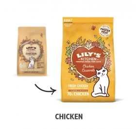 Lily's Kitchen Cat Croquette Poulet 800gr