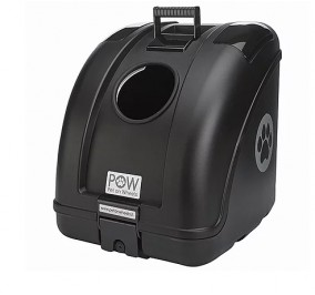 Box transport all in black with a black insert