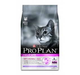 Proplan cat adulte Delicate Turkey&Rice  3Kg