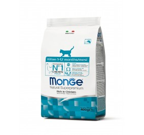 Monge Cat Kitten Chicken 400g