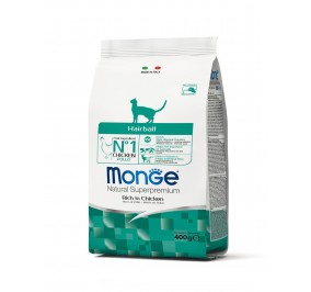 Monge Cat Hairball Chicken 400g