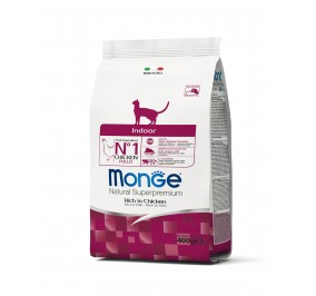 Monge Cat Indoor Chicken 400g