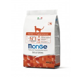 Monge Cat Senior Chicken 400g
