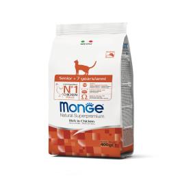 Monge Cat Senior Chicken 400g