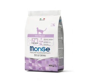 Monge Cat Sterilised Chicken 400g