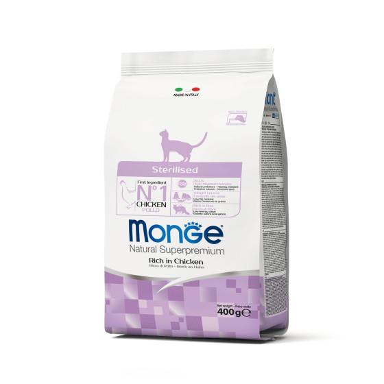 Monge Cat Sterilised Chicken 400g