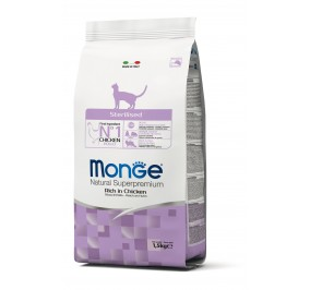 Monge Cat Sterilised Chicken 1,5kg