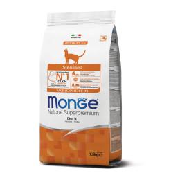Monge Cat Monopro. Sterilised Duck 1,5kg