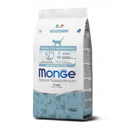 Monge Cat Monoprotein Kitten Trout 1,5kg
