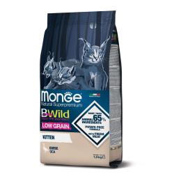 Monge Cat BWild LG Kitten Goose 1.5 kg