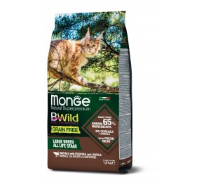Monge Cat BWild GF LARGE Buffalo 1,5kg