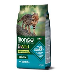 Monge Cat BWild GF Sterilised Tuna 1.5 kg