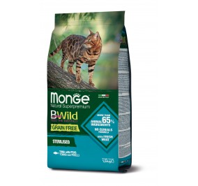 Monge Cat BWild GF Sterilised Tuna 1,5kg