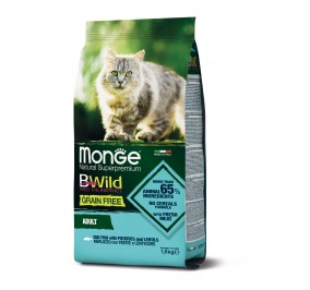 Monge Cat BWild GF Adult Codfish 1,5kg