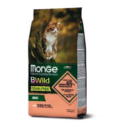Monge Cat BWild GF Adult Salmon 1.5 kg