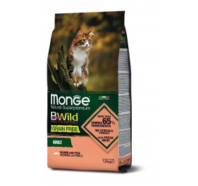 Monge Cat BWild GF Adult Salmon 1,5kg