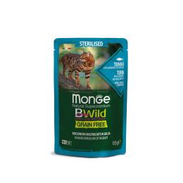 Monge Cat Bwild GF Sterilised Tuna 28x85g