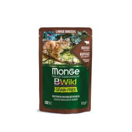 Monge Cat Bwild GF LARGE Buffalo 28x85g