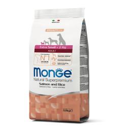 Monge Dog Adult Extra Small Salmon 2,5kg