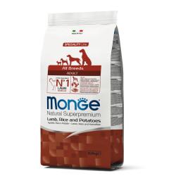 Monge Dog Adult ALL BREEDS Lamb 2,5kg