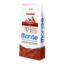 Monge Dog Adult ALL BREEDS Lamb 12kg