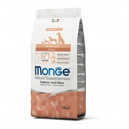 Monge Dog Adult ALL BREEDS Salmon 2.5 kg