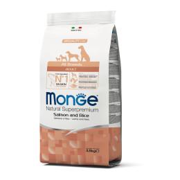 Monge Dog Adult ALL BREEDS Salmon 2,5kg