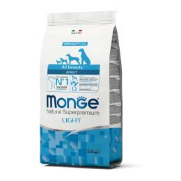 Monge Dog Adult ALL BREEDS Light Salmon 2.5 kg
