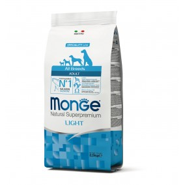 Monge Dog Adult ALL BREEDS Light Salmon 2,5kg