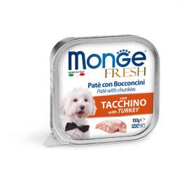 Monge Dog FRESH Pâté Turkey 32x100g