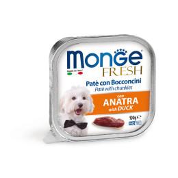 Monge Dog FRESH Pâté Duck 32x100g