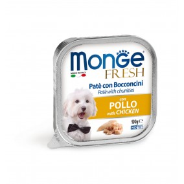 Monge Dog FRESH Pâté Chicken 32x100g