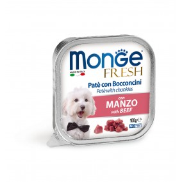 Monge Dog FRESH Pâté Beef 32x100g