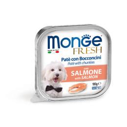 Monge Dog FRESH Pate Salmon 32x100g