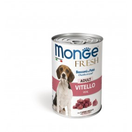 Monge Dog FRESH Adult Veal 24x400g