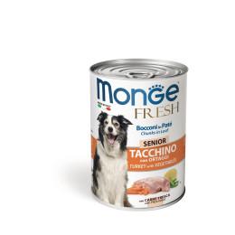 Monge Dog FRESH Senior Turkey&Veget 24x400g