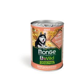 Monge Dog BWild Wet Adult Salmon 24x400g