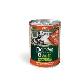 Monge Dog BWild Wet Adult Turkey 24x400g