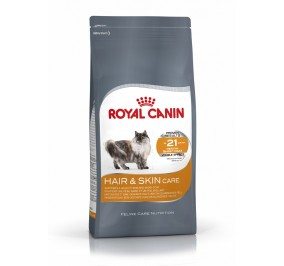 Croquettes chat Royal Canin Hair & Skin 4kg