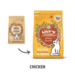 Lily''s Kitchen Cat dry kibble Chicken 2kg
