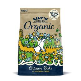 Lily''s Kitchen Dog Organic Chicken 1kg