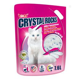 Litière pour chat Crystal Rocks 7.6l