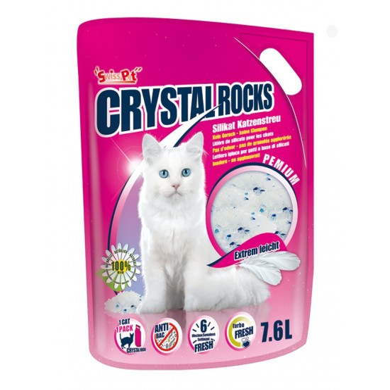 Cat litter Crystal Rocks 7.6 l