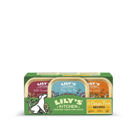 Lily's Kitchen Dog Multipack 6x150gr