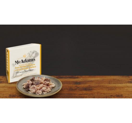Mc Adams Pâté Dog Chicken Turkey 150gr