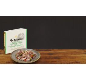 Mc Adams Pâté Dog Turkey Legumes150gr